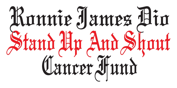 Ronnie James Dio Stand Up And Shout Cancer Fund Logo
