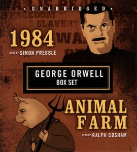 George Orwell Animal Farm 1984 unabridged retail edition Blackstone Audio 270x300 Behind the Scenes