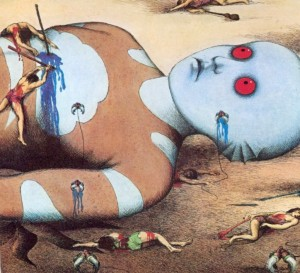 Hal Hefner influenced by Rene Laloux's Fantastic Planet