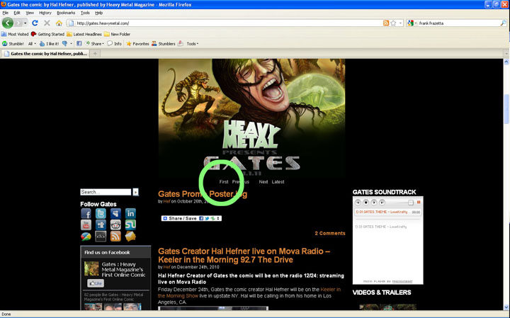 screenshot2 New to the Site?: Heres an Easy Guide to Experience Gates the Comic