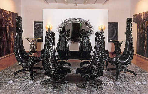 hr giger master of heavy metal macabre gates the