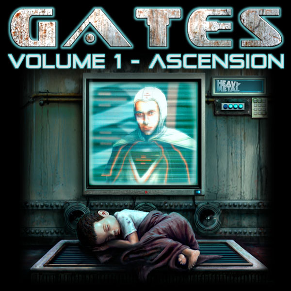 GatesSoundtrackVolume1 The Geeks of Doom Reviewed the Gates Comic Book Soundtrack!