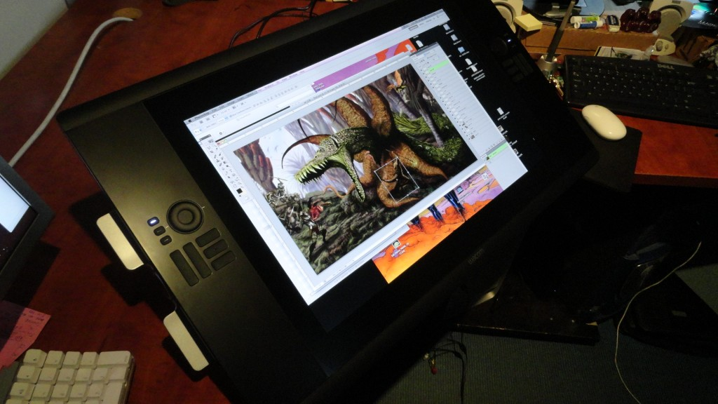 cintiq24HD hal Hefner 2 1024x576 A Review of the Cintiq 24HD Monitor by Comic Artist Hal Hefner