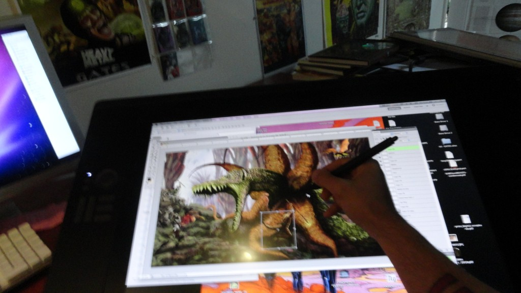 cintiq24HD hal Hefner 3 1024x576 A Review of the Cintiq 24HD Monitor by Comic Artist Hal Hefner