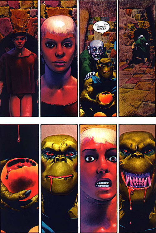 corben gates hal hefner heavy metal Richard Corbens Den and the Influence on Hal Hefners Comic Book Gates