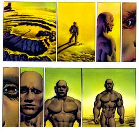viajes corben den pagina Richard Corbens Den and the Influence on Hal Hefners Comic Book Gates