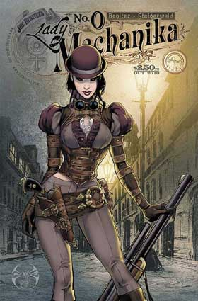 lady mechanika Top 11 List of Science Fiction Books, Movies and Music for Creative Inspiration