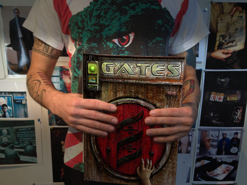 Hal Hefner Gates the comic heavy metal magazine GATES IS AVAILABLE IN TRADE PAPERBACK FOR THE FIRST TIME EVER
